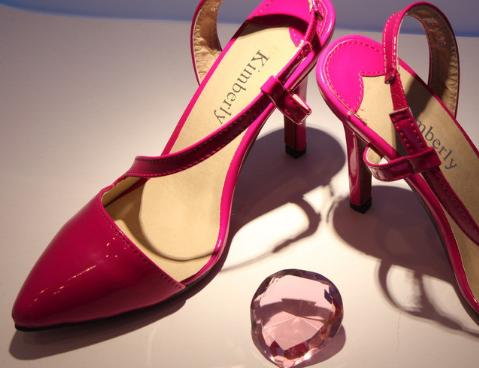 朱利萊女鞋紅色
