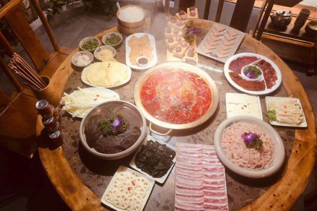 秦妈火锅菜品图