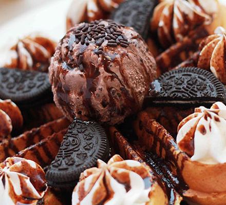 冰爽爽冰激淋巧克力