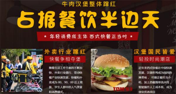 湯姆之家漢堡西式快餐加盟4