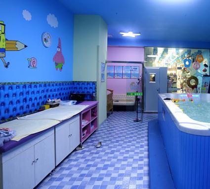 启智儿童生活馆洗澡