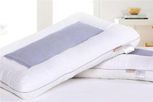 皇宮中藥枕頭白色