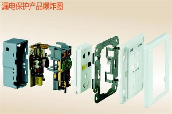 佳安寶漏電保護插座展示圖