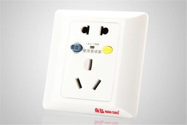 佳安寶漏電保護插座一個