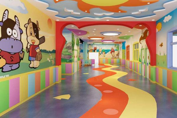 维佳贝诺幼儿园干净