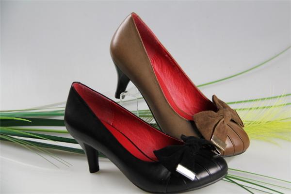 法娜妮女鞋皮鞋