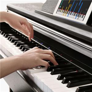 佰蕊钢琴敲击