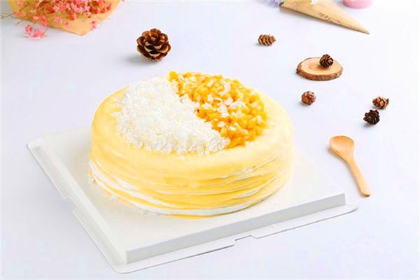 萬福興糕團-黃桃味