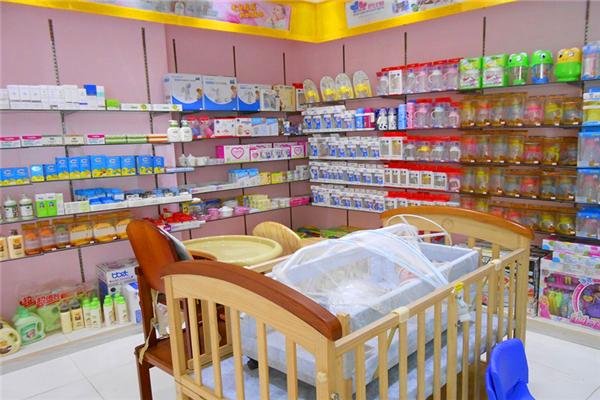 贝贝拉姆孕婴店面