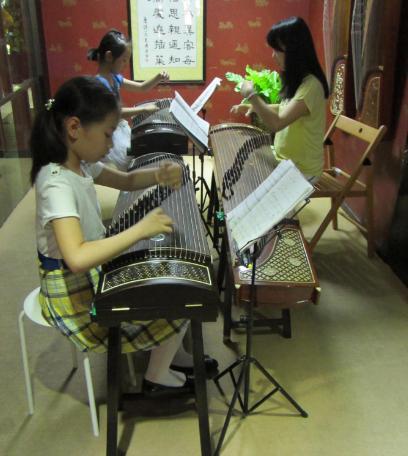 汉宫琴韵国学馆古筝课程