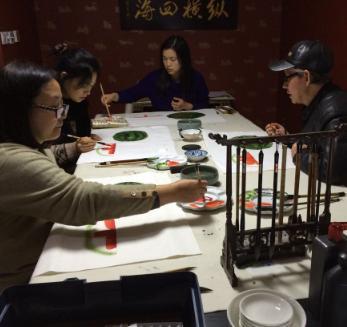 汉宫琴韵国学馆教师练习