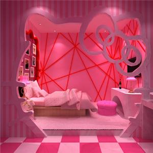 心之戀情侶酒店粉紅