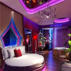 心之戀情侶酒店房間