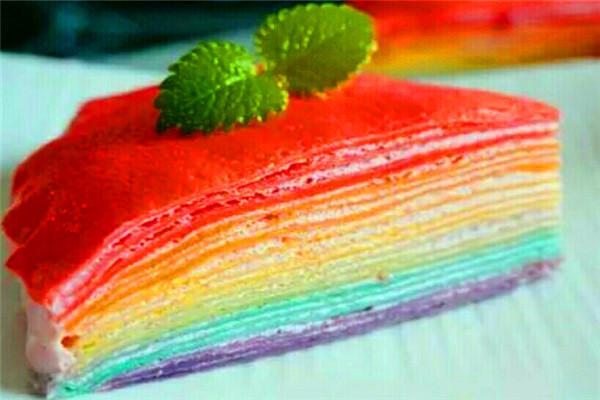 晶小姐的研磨時光蛋糕-七彩蛋糕