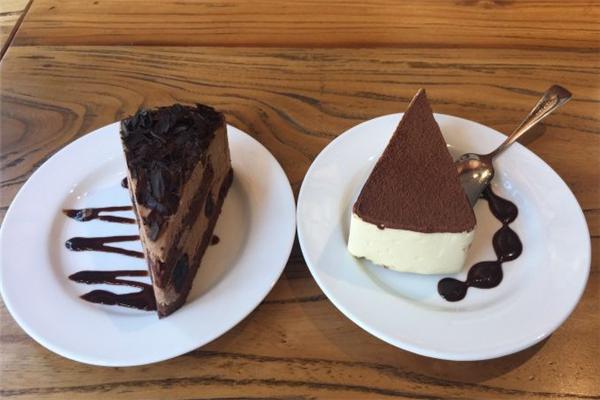花時間咖啡館蛋糕
