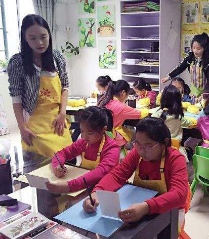 蒲公英藝術培訓學校兒童繪畫