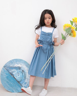 KiKi小鬼當家童裝藍色
