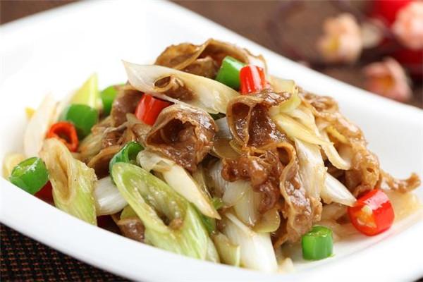 斑蘭葉風味餐廳炒肥腸