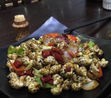 斑蘭葉風味餐廳田螺