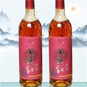 西峰紅米酒黃酒山峰