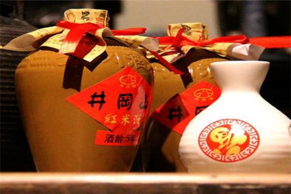西峰紅米酒黃酒蓋子