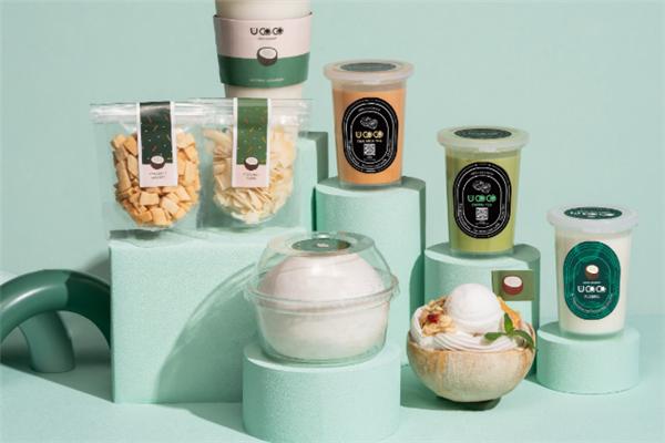 UCOCO椰子布丁產品