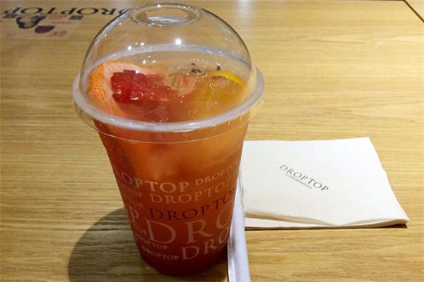 droptop咖啡西柚