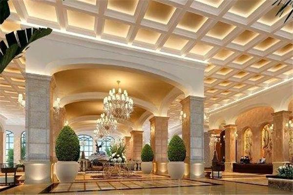 紫華園酒店大廳