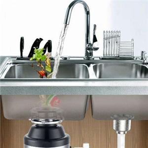 極速廚房垃圾處理器自來水