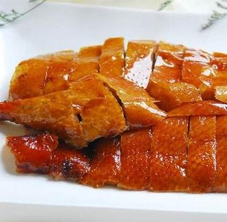 丹阁果木炭烤鸭