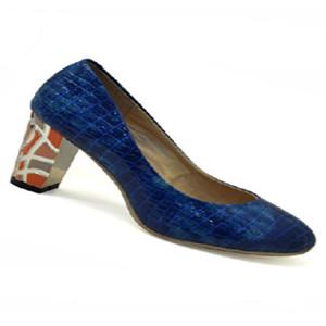 卡比丽尔蓝色女鞋