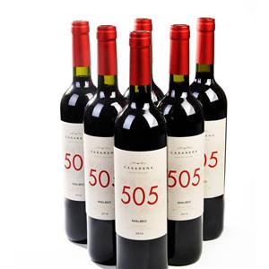 卡萨雷娜505干红