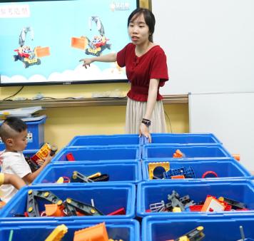 艾力申机器人课堂4