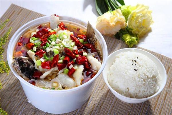 筷有引力酸菜魚飯好吃