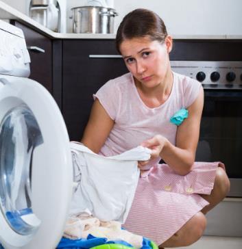 洗e客白色衣服