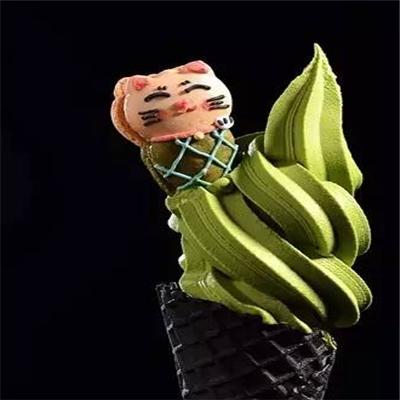抹茶風暴冰淇淋