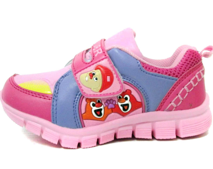 小鱼儿童鞋粉色