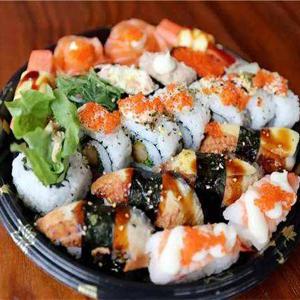 禾风外带寿司混搭套餐