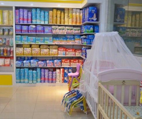可儿母婴用品店吃的