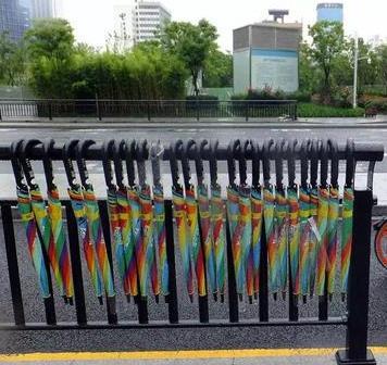 共享雨伞多把