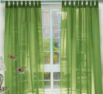 宇軒窗簾綠色