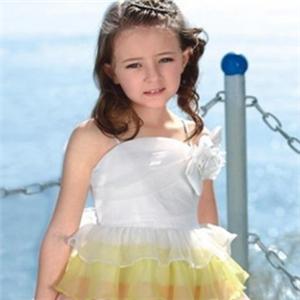 橡皮鱼童装公主裙
