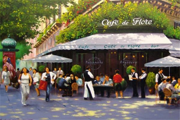 花神街角咖啡餐厅