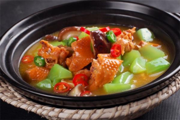 福康泰黃美味燜雞