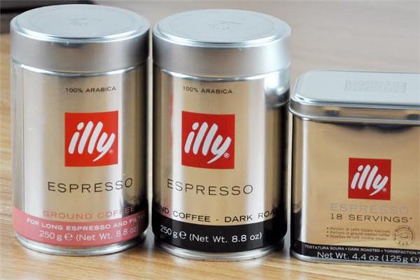 illy艾利咖啡3罐