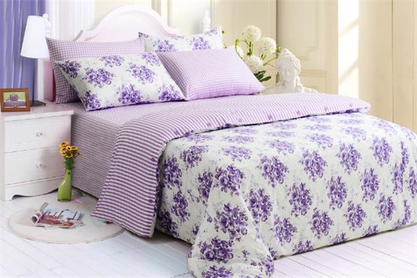 爱喜来家纺紫色