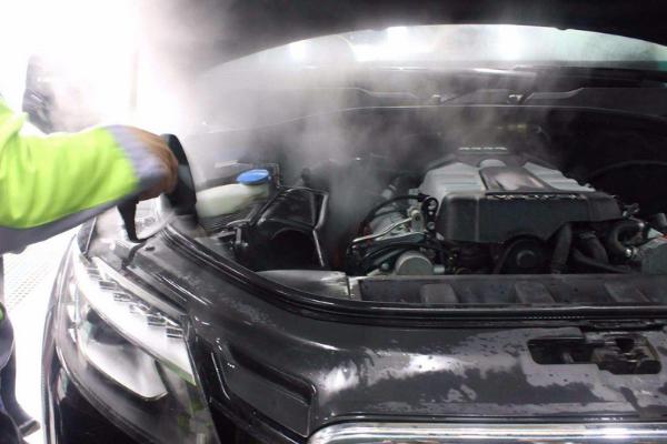 斑马全自动洗车干净