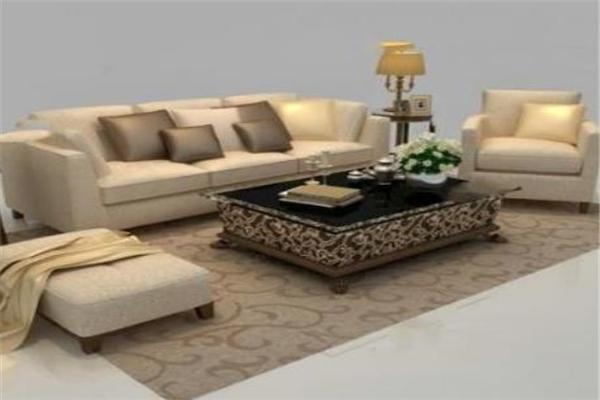 KBH和睿嘉品沙发棕色整套沙发