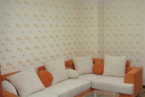 宝艺液体壁纸客厅