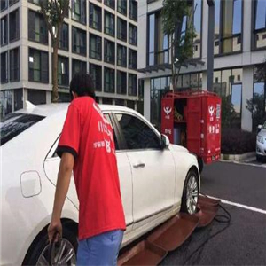 小牛帮洗车工作